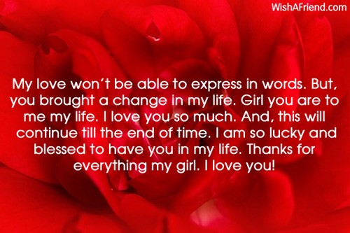 Quotes To Express My Love For Her : Love Letters For Her I Love You love letters for her - page 3