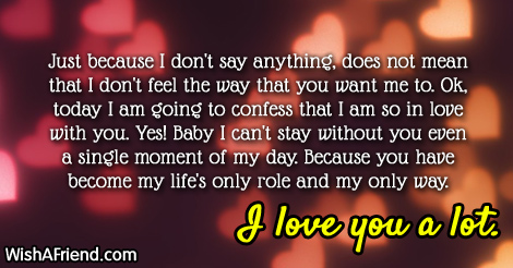 Lovingyou Love Letters Thinking Of You