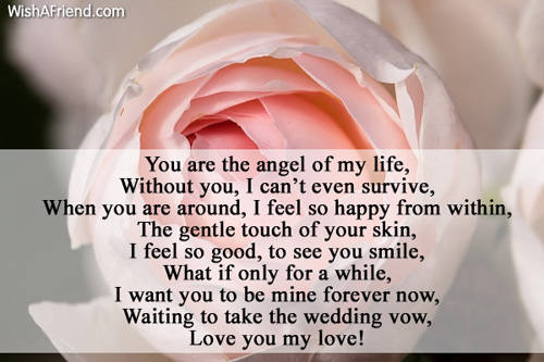 25 High Rated Love Poems For Him | Love | Pinterest | Poem ... |I Want You Forever Poems