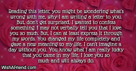 Short Love Letters - Page 1