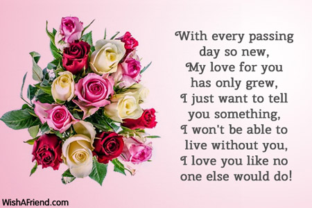7661 love messages for husband