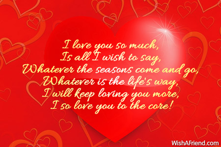 i love you so much is love message for boyfriend