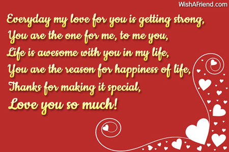 Sweetest love message for boyfriend