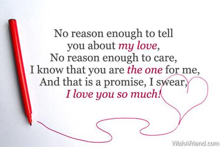 Short i love you messages for him