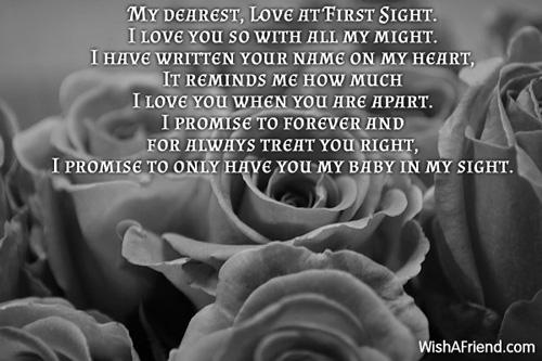 first sight poem