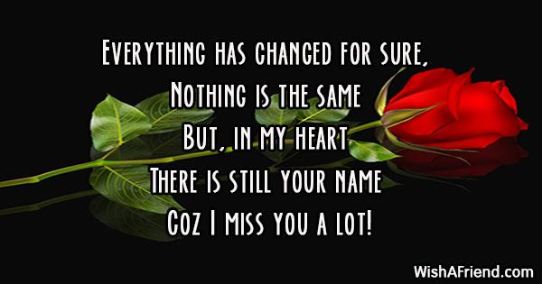 Missing your ex boyfriend