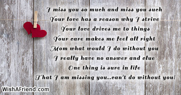 Missing Messages Mother