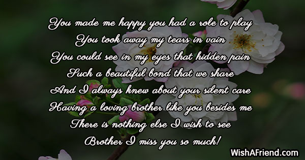 19293 missing you messages for brother
