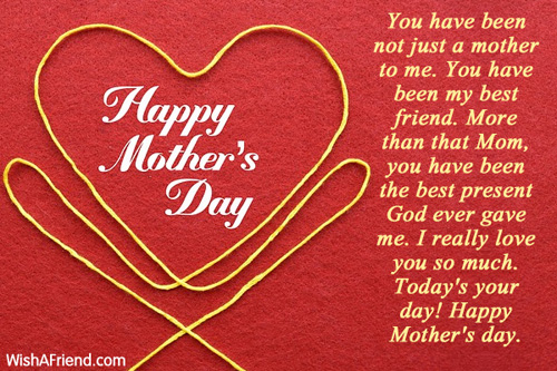 4660 mothers day messages