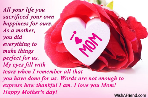 mother's day messages, Natural flower