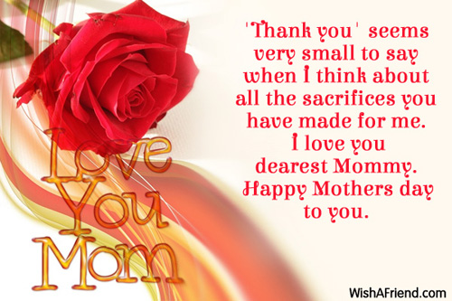 Mothers day messages m4hsunfo