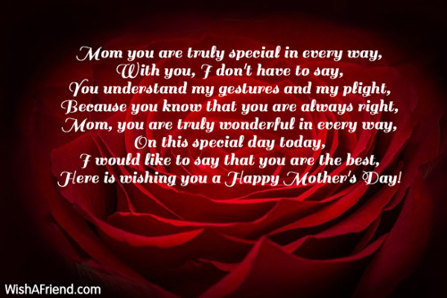 Mother's Day Poems - Page 2