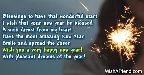17546 new year messages blessings