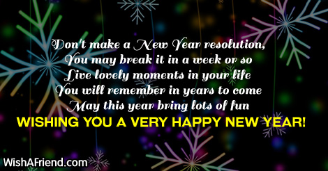 new year sayings