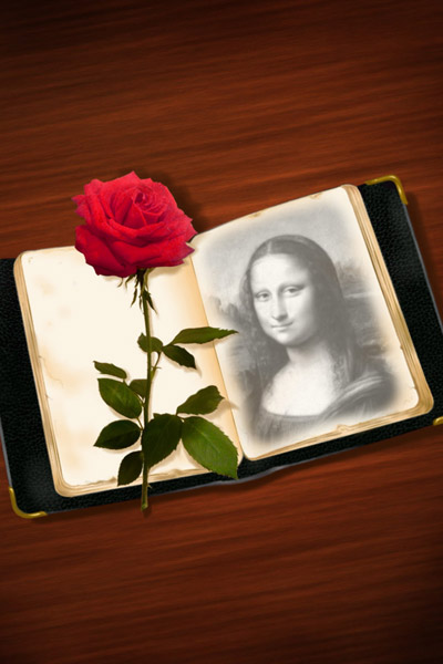 Love Book Photo Effect Generator. Get your photo with this handpainted ...