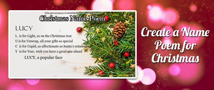 christmas name poem make a christmas acrostic poem for your name