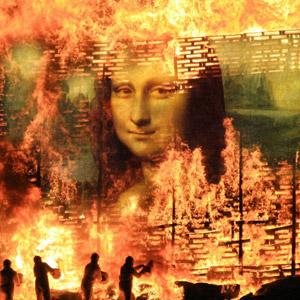 Burning Bill Board