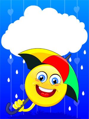 Rainy Day Smiley