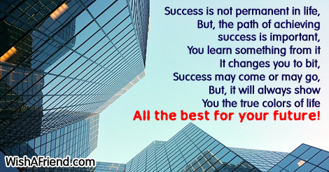 Success Poems