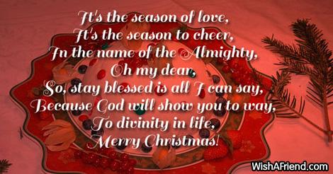 16593 christmas poems for church