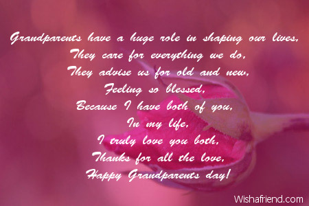 Poems For Grandparents Day