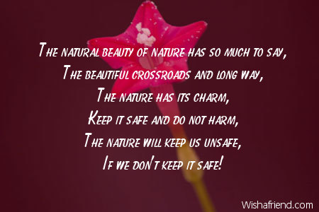 Charming Nature Nature Poem