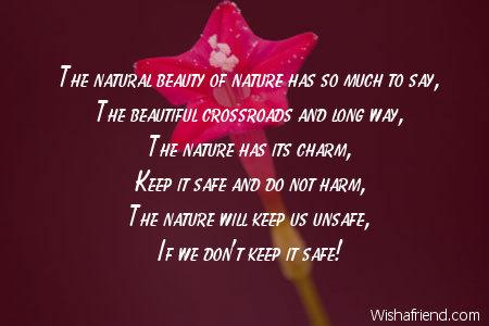 Charming Nature Poem