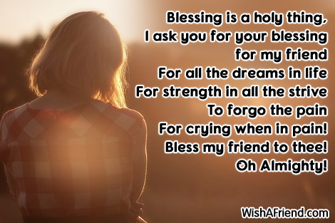 Its a holy thing blessing prayers for friends its a holy thing thecheapjerseys Images