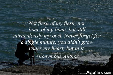 baby-Not flesh of my flesh,