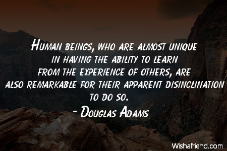 TOP 25 QUOTES BY DOUGLAS ADAMS (of 578) | A-Z Quotes