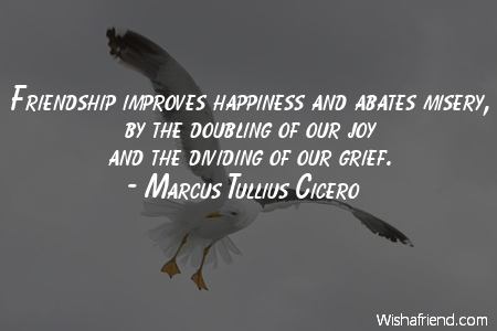 cicero on friendship quotes