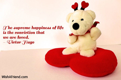 valentinesday-The supreme happiness of life