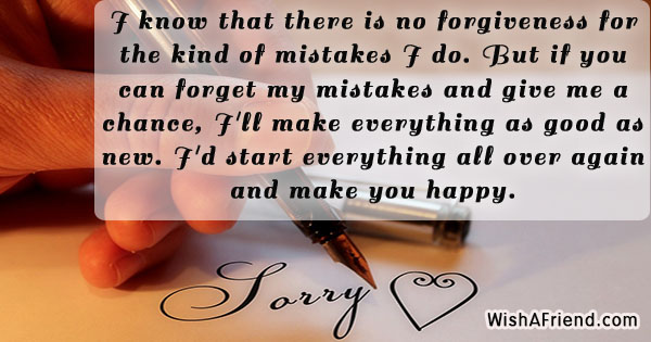 forgiveness message to your husband