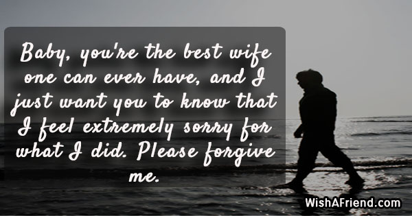 14837 i am sorry messages for wife