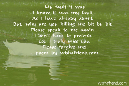 please forgive me my love poems