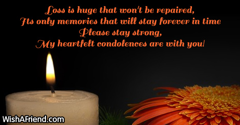 12259 sympathy messages for loss of father