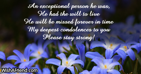 Sympathy Messages For Loss Of Husband – Sympathy Message