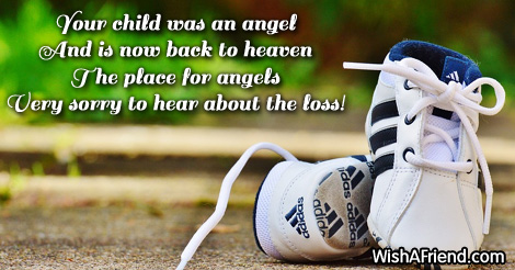 Sympathy Messages For Loss Of Child – Apology Card Messages