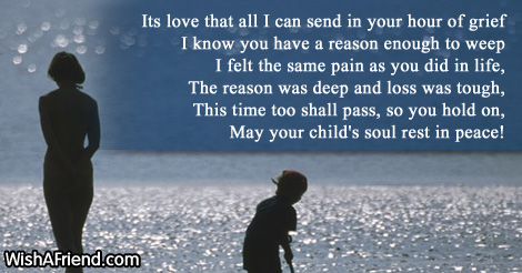 image result for words for a sympathy card on the loss of a son