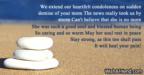 sympathy messages for loss of mother page 4