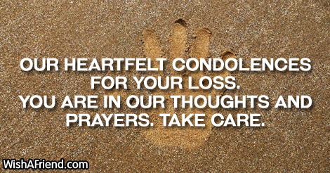 Our heartfelt condolences for your loss sympathy message for loss 3465 sympathy messages for loss of child m4hsunfo