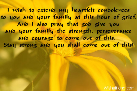 Condolence Messages – Condolence Messages