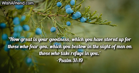 how great is your goodness which bible verses for thanksgiving