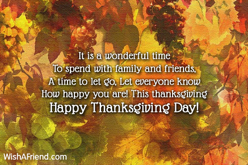 It is a wonderful time to thanksgiving card message 9737 thanksgiving card messages m4hsunfo