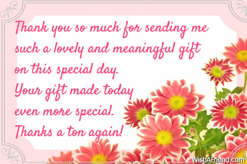 Thank You Quotes For Friends On Birthday: Thank you quotes for ...