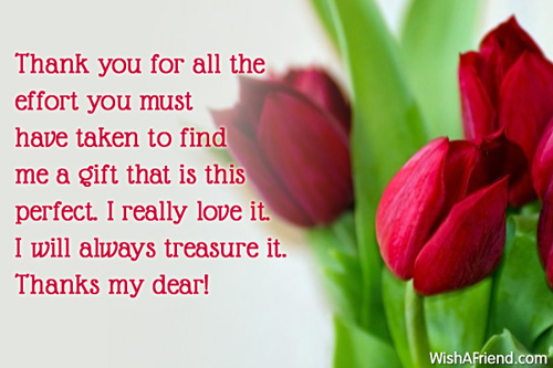 Thank you quotes for gifts received quotesgram What is a nice thank you gift