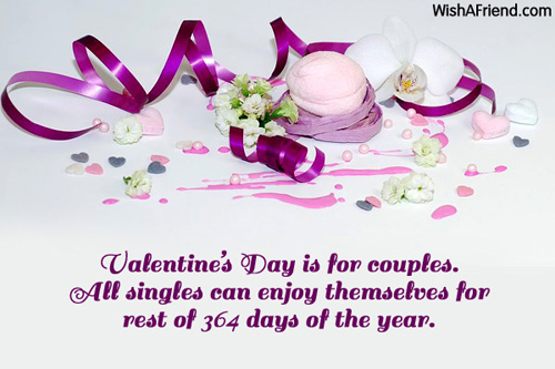 Funny Valentine Quote For A Friend : Funny valentine s day quotes