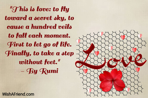 This Is Love To Fly Toward Happy Valentine S Day Quote