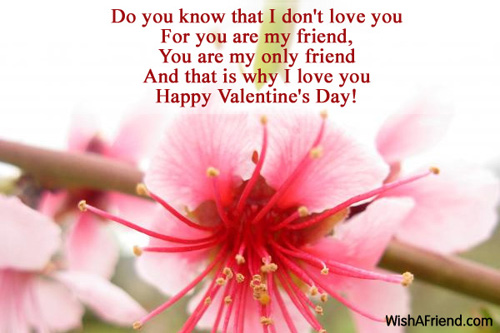 Valentines day messages for friends 11284 messages for friends m4hsunfo