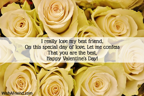 11292 messages for friends - Valentines Day Best Friend